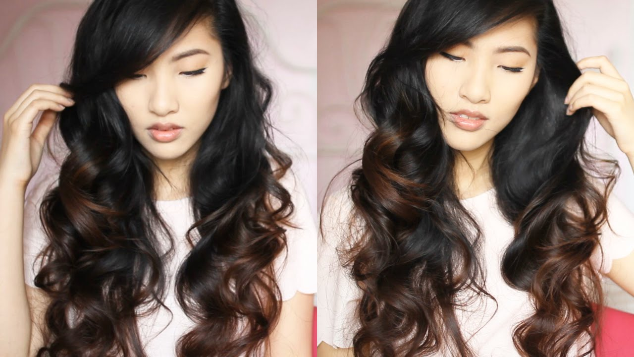 HEATLESS CURLS - OVERNIGHT | Emily Liu - YouTube