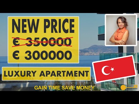 Alanya Luxury Apartment for Sale from Developer no Extra Commission from Buyer