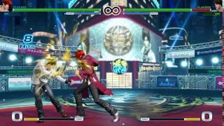 The King of Fighters XIV Combos - Iori (2/14)