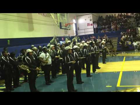 Fort Lauderdale  High School Band ( Spring Pep Rally 2017)