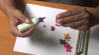 How To Make Quilling 3D Art Pencil Top