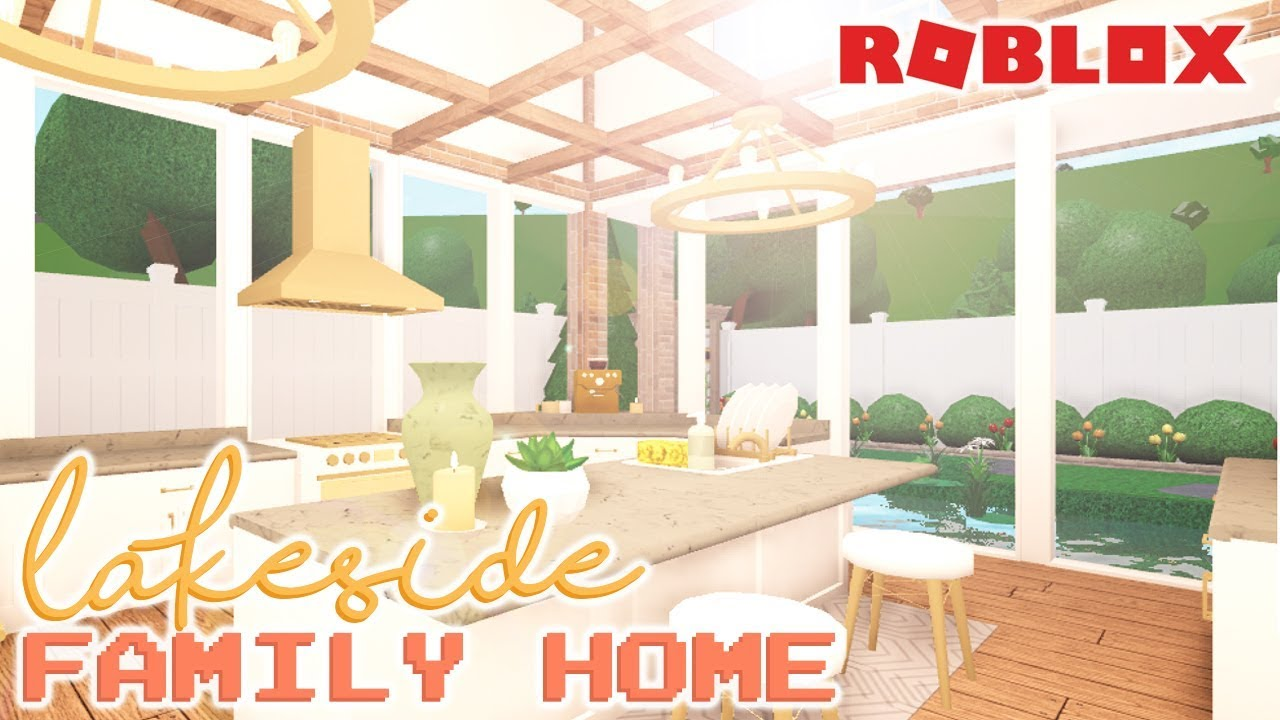 Lakeside Family Home 272k Welcome To Bloxburg Youtube