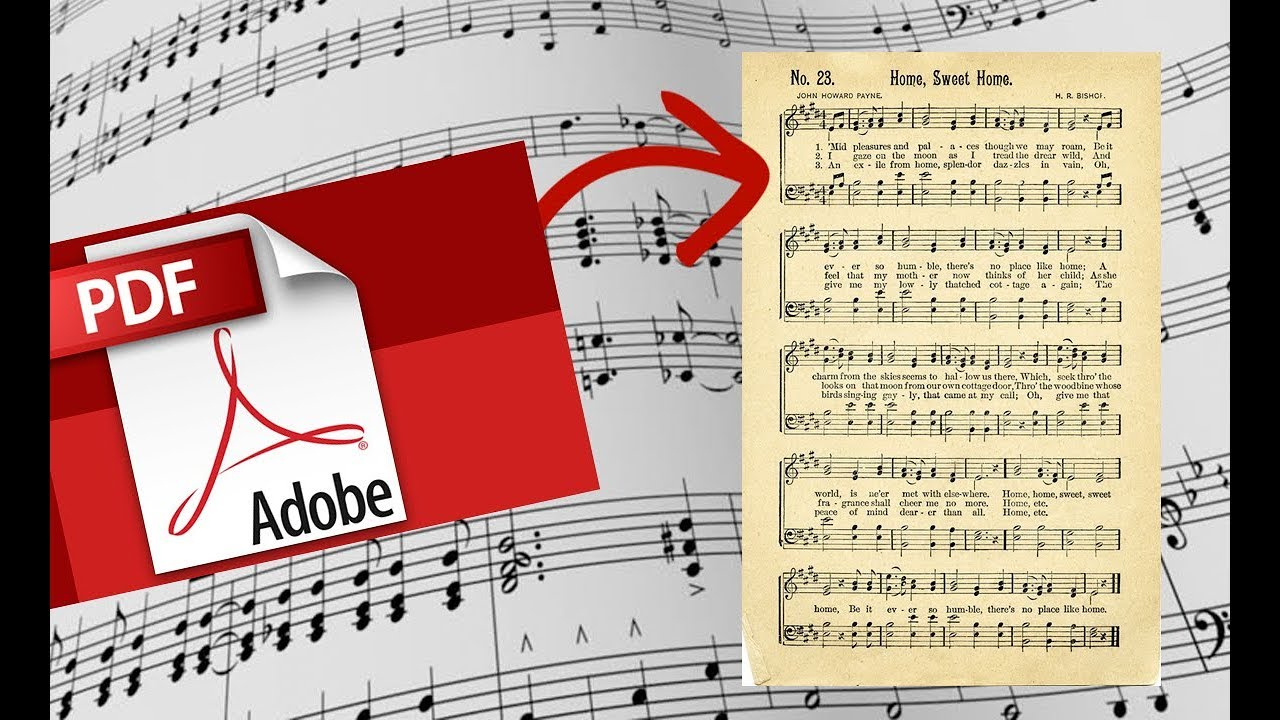 How to convert sheet music PDF to MuseScore 2