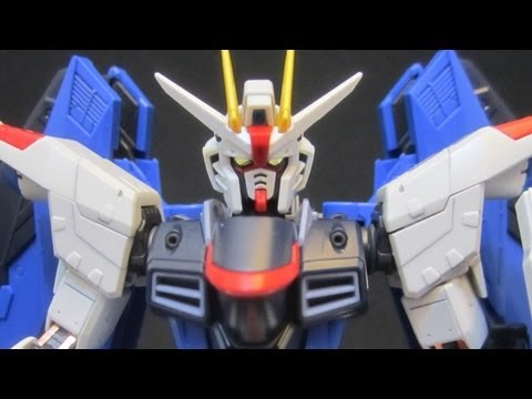 RG Freedom Gundam (Part 3: MS) Gundam Seed gunpla model review