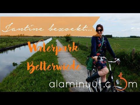 Een GRANDIOOS uitzicht & onthaasten in Wanneperveen | Jantine bezoekt Waterpark Belterwiede