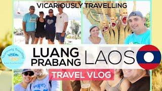 🇱🇦 Luang Prabang, Laos Travel Vlog #LuangPrabangPDR