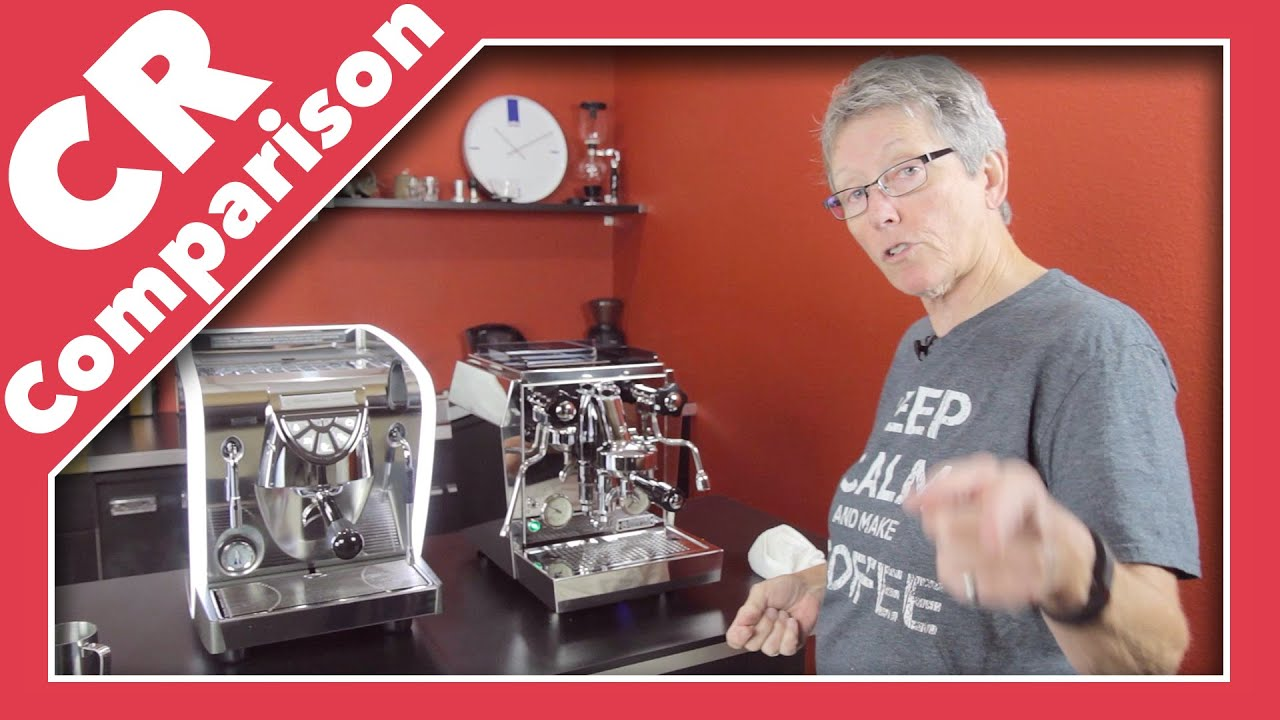Nuova Simonelli Musica Vs Rocket Premium Plus Cr Comparison Youtube