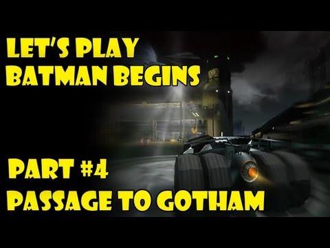 Let's play Batman Begins (Xbox) part 4. Passage to Gotham/Gotham city.