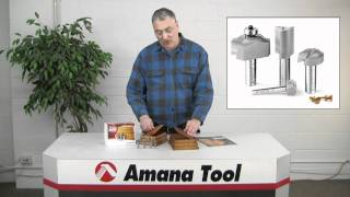 Amana Tool Router Bits For Building Stacking Boxes By Lonnie Bird