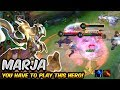 THIS IS WHY YOU SHOULD PLAY MARJA    Arena of Valor