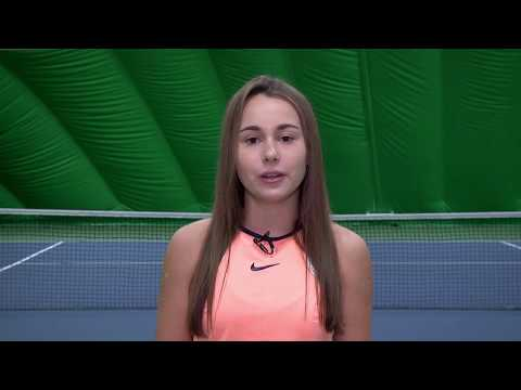 Anastasia Vaganova - College Tennis Recruiting Video - Fall 2018