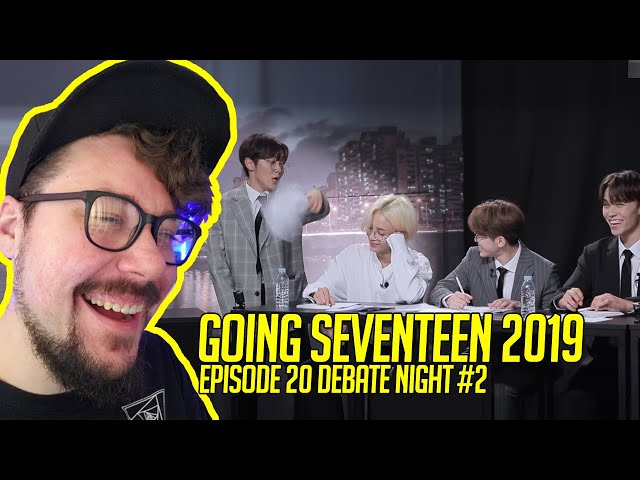 Mikey Reacts to  GOING SEVENTEEN 2019 EP.20 Debate Night #2