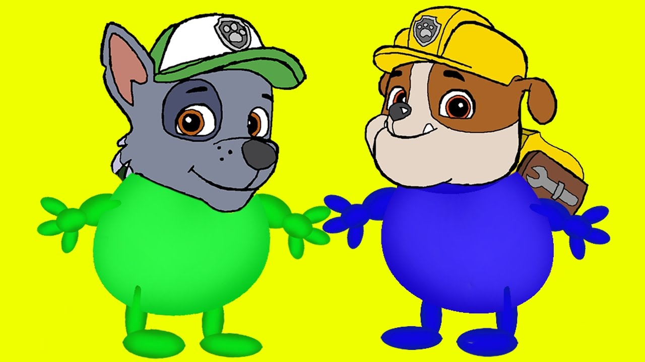 Coloring Pages Paw Patrol Transforms Into Mega Gummy Bear. Coloring ...