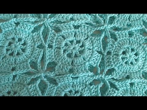 Como hacer granny square en crochet cuadros ideal para - Mantel de crochet ...
