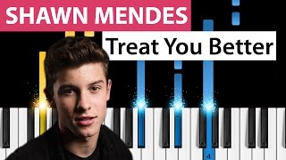 Baixar - Shawn Mendes Treat You Better Piano Tutorial Grátis