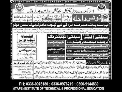 MovieChef, Civil Surveyor, Mobile Phone Repairing , Safety Officer, Petroleum Engineering