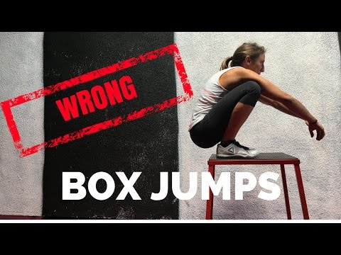 Box Jumps...You're Doing it WRONG
