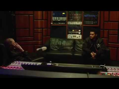 The Weeknd talks compition against Drake