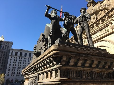 Tour the tunnels of the Soldiers' and Sailors' Monument (video, photos)