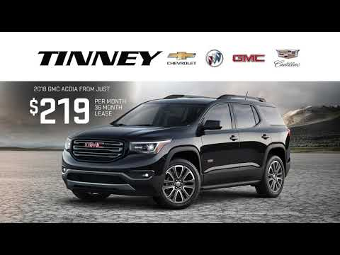 2018 GMC Acadia for Sale with Current Lease Offers