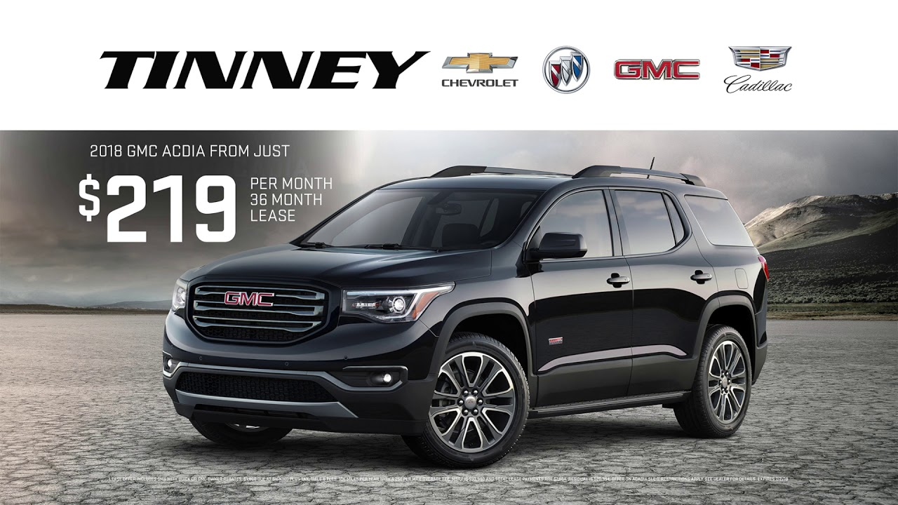 Gmc Acadia Lease >> 2018 Gmc Acadia For Sale With Current Lease Offers