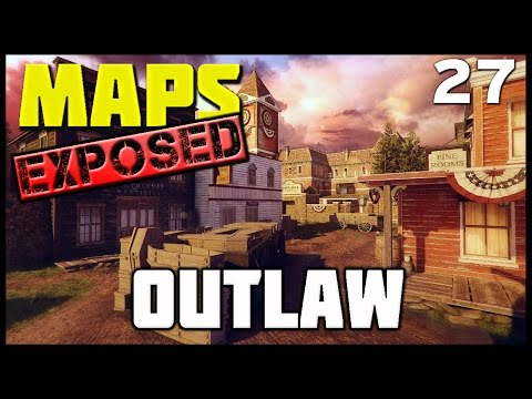 Ep. 27 - Outlaw (Standoff) | Maps Exposed! (Lines of Sight, Wall Runs, and Spots)