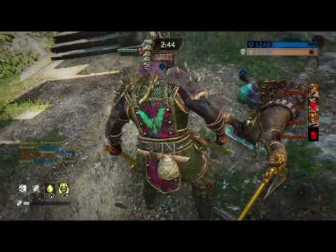 For Honor - Berserker New Execution in Epic Dominion Match