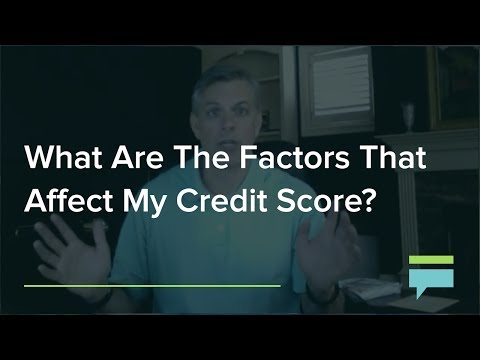 What Are The Factors That Affect My Credit Score Credit Card Insider