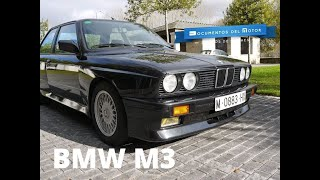 BMW M3 E30- www.documentosdelmotor.com(El BMW M3 es uno de los iconos automovilísticos de los años 80. En el Salón de Francfort de 1985 BMW ponía en jaque a todos sus rivales, con un modelo ..., 2015-12-16T09:58:57.000Z)