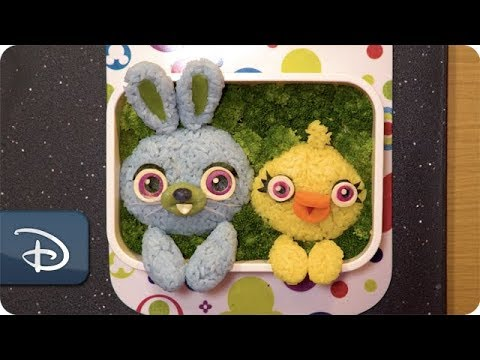 Disney Parks Bento Magic – Ducky and Bunny from Disney and Pixar's 'Toy Story 4'