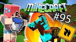 Minecraft - ШОК! ЛОШАДЬ В ОГНЕ! (Серия 95)