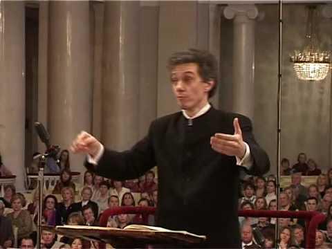 Alexander Polishchuk conducting Beethoven Symphony No.5 2 mov.