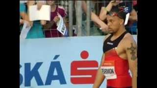Wallace Spearmon wins Men's 200m at Ostrava Golden Spike 25.05.2012