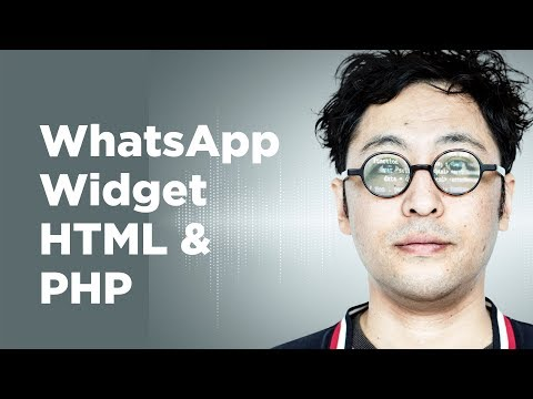 Whatsapp Widget PHP And HTML - Click To Chat