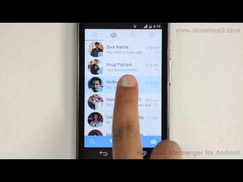Facebook Messenger For Android - How To Send Emoticons With Message