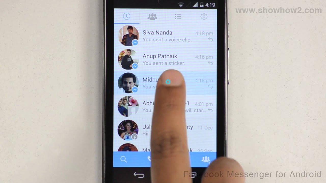 send pdf facebook messenger android