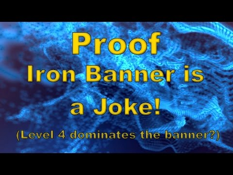 This video argues that Destiny's Iron Banner mode is a lie