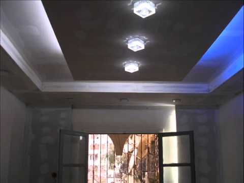 Deco en placo youtube for Placoplatre decoration plafond