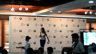 Natasya Kravitz MC for BMW GOLF CUP 2015
