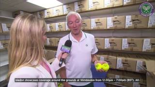 Ever wondered how many tennis balls are used at Wimbledon? thumbnail