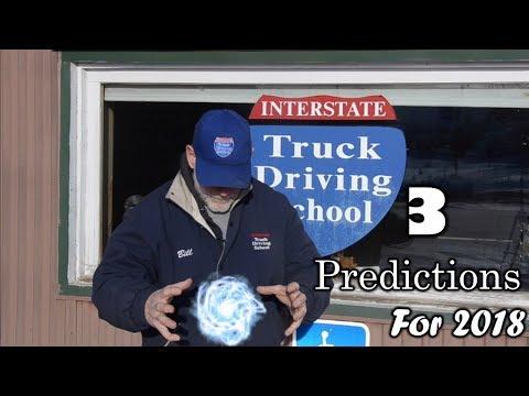 Interstate Truck Driving School - Industry Update 1-12-18