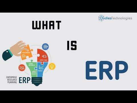 What is Enterprise Resource Planning (ERP) ? | An Introduction | Oodles Technologies