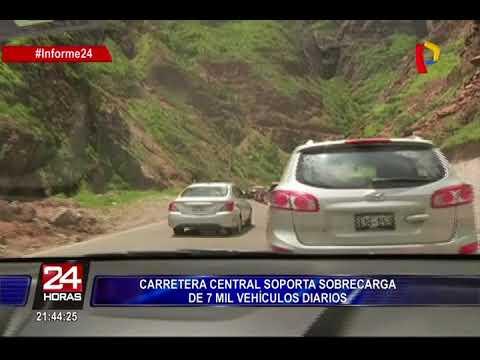 Carretera Central se ha convertido en una de las vías más saturadas, lentas y peligrosas