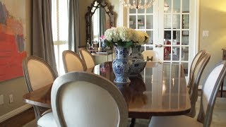 The Southern Life: Formal & Family-Friendly Dining Room