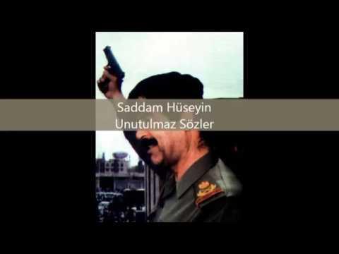 Saddam Huseyin In Meshur Sozleri Yigit Oglu Yigit