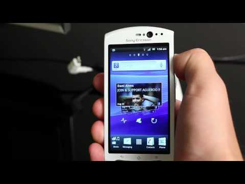Sony Ericsson announces the Xperia neo V and Android updates.mp4