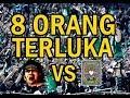 Detik Detik Bentrok Bonek vs PSHT SH Terate Di Balung Jember
