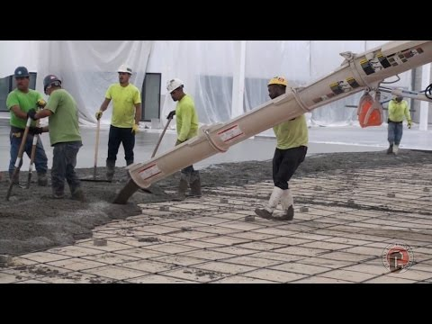 How to Manage the Installation of an Exposed Concrete Slab