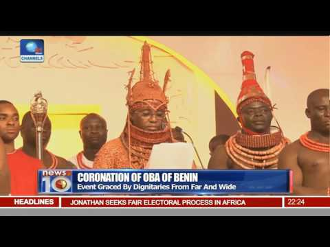 News@10: Benin Kingdom Crowns Ewuare II As 40th Oba 20/10/16 Pt.2