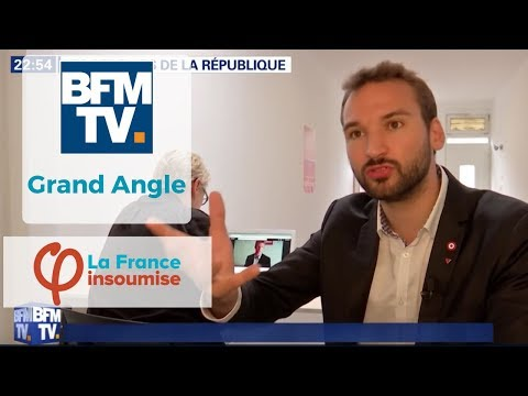 """France Insoumise : """"Les rebelles de la République"""" - Grand Angle BFMTV"""